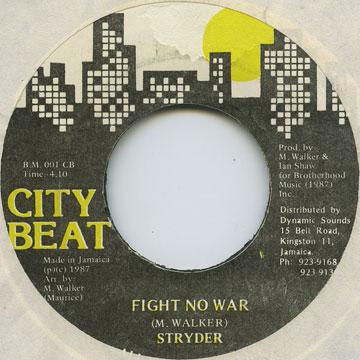 Stryder - Fight No War (7