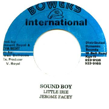 Little Irie, Jerome Facey - Sound Boy (7
