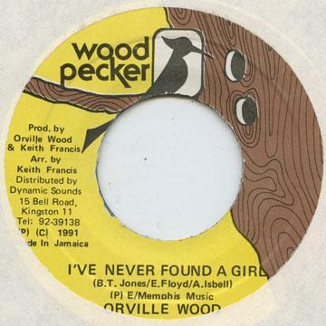 orville wood i ve never found a girl 7 レコード レゲエレコード
