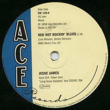 Red Hot Rockin' Blues / South's Gonna Rise Again