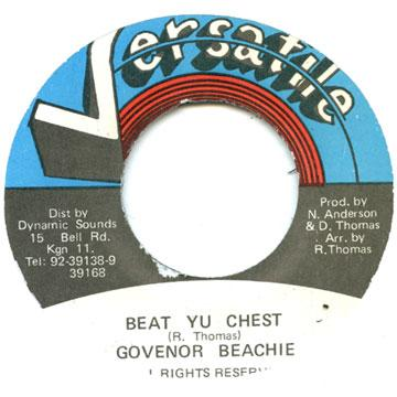 Governor Beachie - Beat Yu Chest (7
