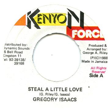 Gregory Isaacs - Steal A Little Love (7