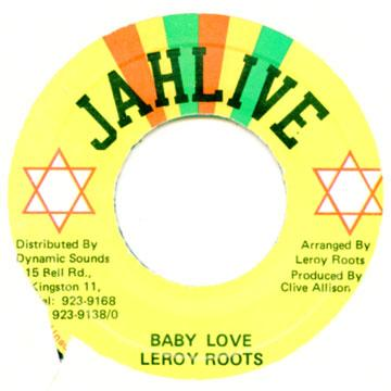 Leroy Roots - Baby Love (7