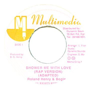 Roland Henry, Bogle T - Shower Me With Love (Off Center) (7
