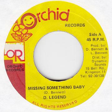 David Legend - Missing Something Baby (7