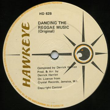 Dancing The Reggae Music (Original) (1982 Press) / Checking Out; Instrumental Version