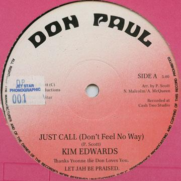 Just Call (Don't Feel No Way) / Don Calls; Lovers Night