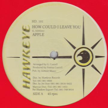Apple - How Could I Leave You (12