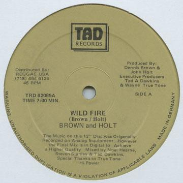 Dennis Brown, John Holt - Wild Fire (Extended Mix) (12