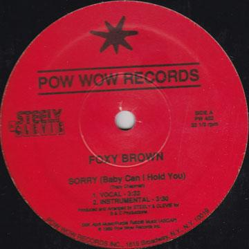 Foxy Brown - Sorry (Baby Can I Hold You); Version (12