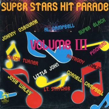 Various - Super Stars Hit Parade Volume 3 (Wear Yuh Size Rhythm) (LP)