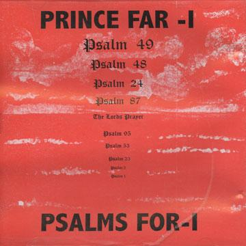 Prince Far I Blackman Land