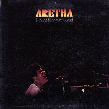 Aretha Franklin - Live At The Fillmore (Jacket Damage) (LP)