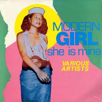 Various - Modern Girl She Is Mine (LP)