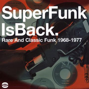 Super Funk Is Back 5: Rare And Classic Funk 1968-1977 (2LP)