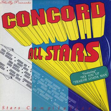 Various - Concord All Stars (LP)