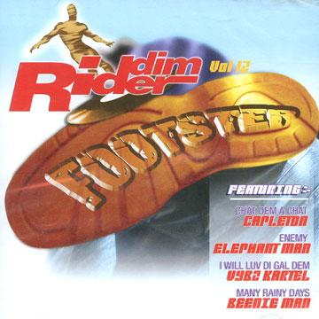 Various - Riddim Rider: Footstep (Fire Ball Productions) (CD)