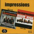 Impressions - One By One + Ridin' High