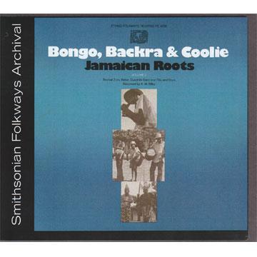 Bongo, Backra & Coolie: Jamaican Roots, Vol. 2 (FE04232) (CD-R)