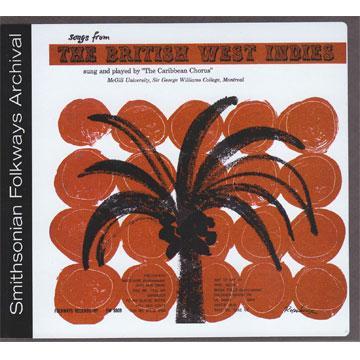 B.W.I. (British West Indies) Songs (FW8809) (CD-R)
