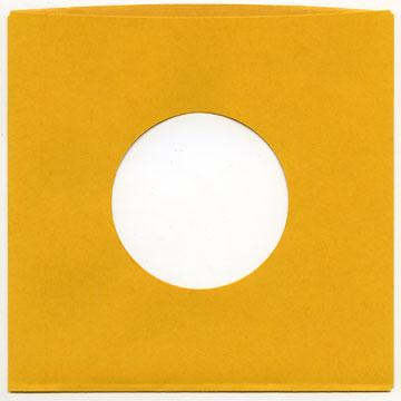 "7"" Gold Heavyweight Paper Sleeve"