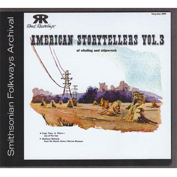 American Storytellers, Vol. 3 (COOK5009) (CD-R)