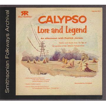 Calypso Lore and Legend (COOK5016) (CD-R)