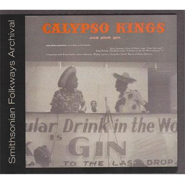Calypso Kings and Pink Gin (COOK1185) (CD-R)