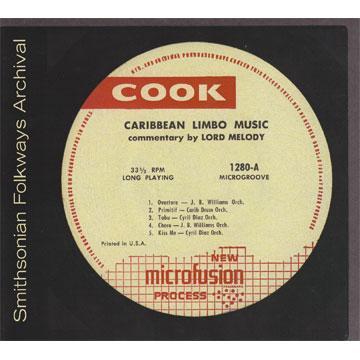 Caribbean Limbo Music (CK01280) (CD-R)