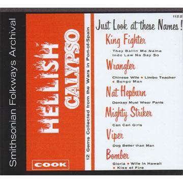 Hellish Calypso (COOK1122) (CD-R)