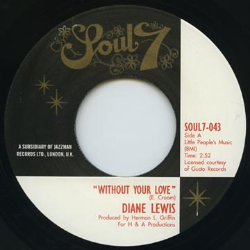Whthout You Love / Giving Up Your Love