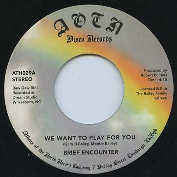 We Want To Play For You / Sweet Tender Loving
