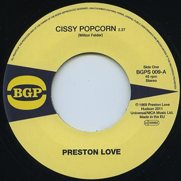Cissy Popcorn / I Can't Stand It (I Can't Take It No More)
