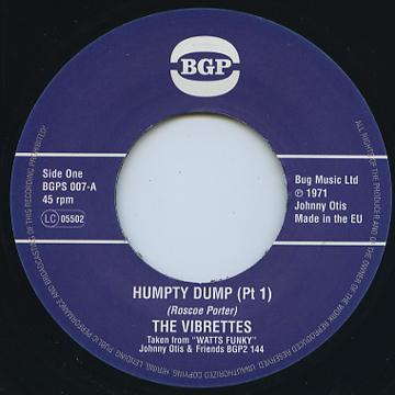 Humpty Dump (Pt 1) / (Pt 2)