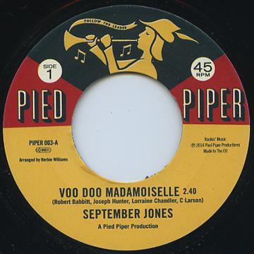 Voo Doo Madmoiselle / That's When I Need You