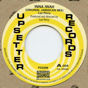 Lee Perry - Inna Iwah (Original Jamaican Mix) (7