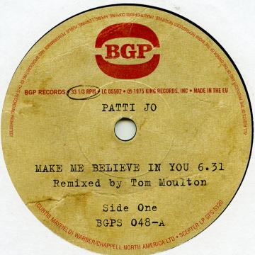 Make Me Believe In You (Remixed By Tom Moulton) / Ain't  No Love Lost