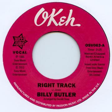 Right Track / Richt Track (Instrumental)