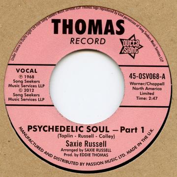 Saxie Russell - Psychedhlic Soul Part 1 (7