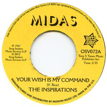 Your Wish Is My Command / I'll Take A Chance 'on You'