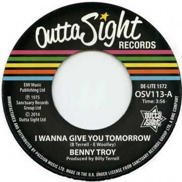 I Wanna Give You Tomorrow / I Wanna Give You Tomorrow