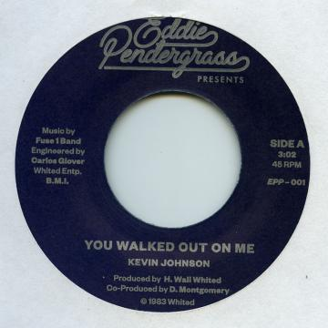 You Walked Out On Me