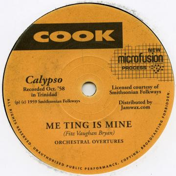 Me Ting Is Mine / Whey You Want To Touch It For