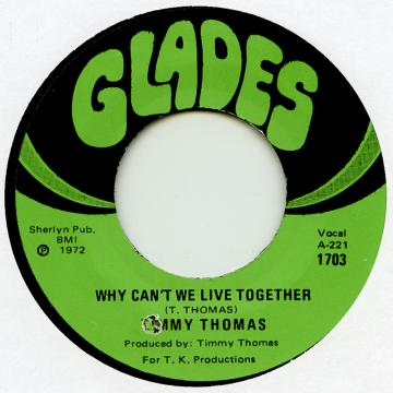 Why Can't We Live Together (Cutout) / Funky Me