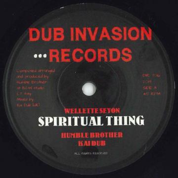 Spiritual Thing / Spiritual Dub