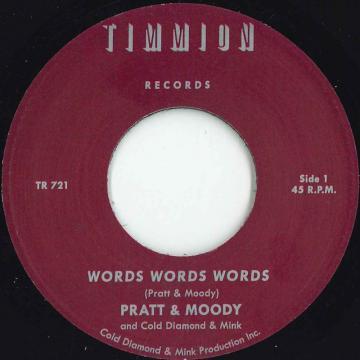 Words Words Words (Vocal) / (Instrumental)