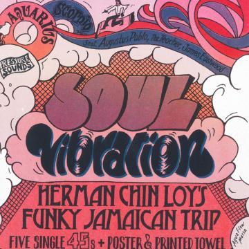 """Soul Vibration - Herman Chin Loys Funky Jamaican Trip (7"""" x 5 Box Set)"""