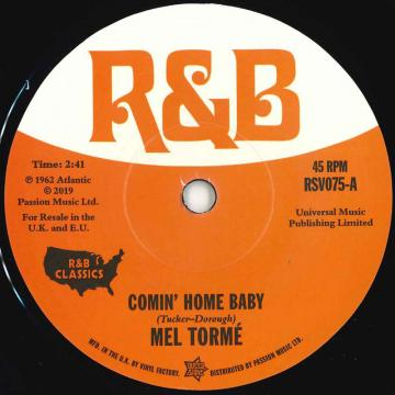 Comin' Home Baby / Cry To Me