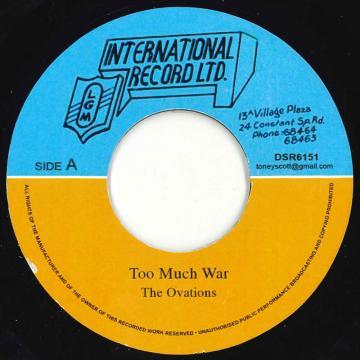 Too Much War / Version