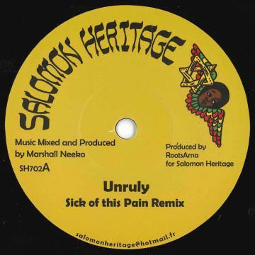 Sick Of This Pain Remix / Riddim